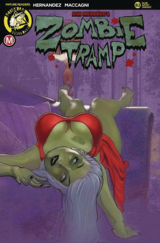 Zombie Tramp #82 (Andrew Herman Cover)