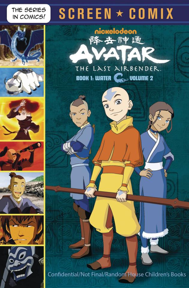 Avatar: The Last Airbender Screen Comix Vol. 2