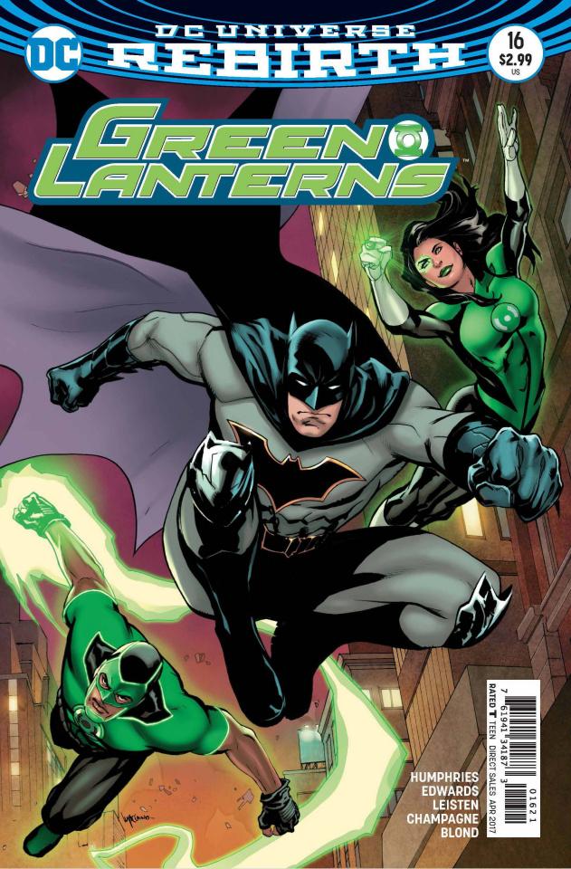 Green Lanterns #16 (Variant Cover)