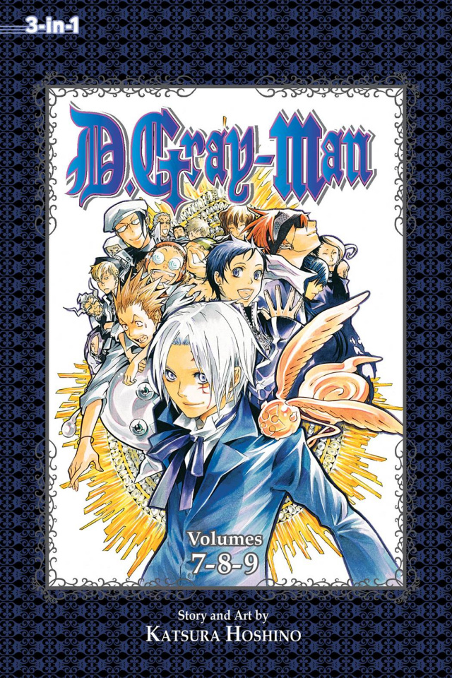 D.Gray-Man Vol. 3 (3-in-1 Edition)
