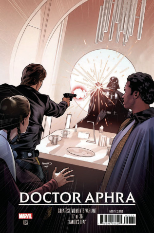 Star Wars: Doctor Aphra #33 (Renaud Greatest Moments Cover)