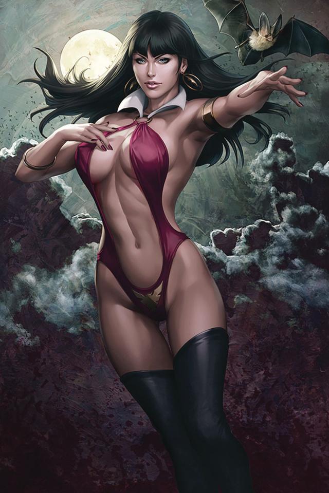 Vampirella #4 (Lau Artgerm Cover)