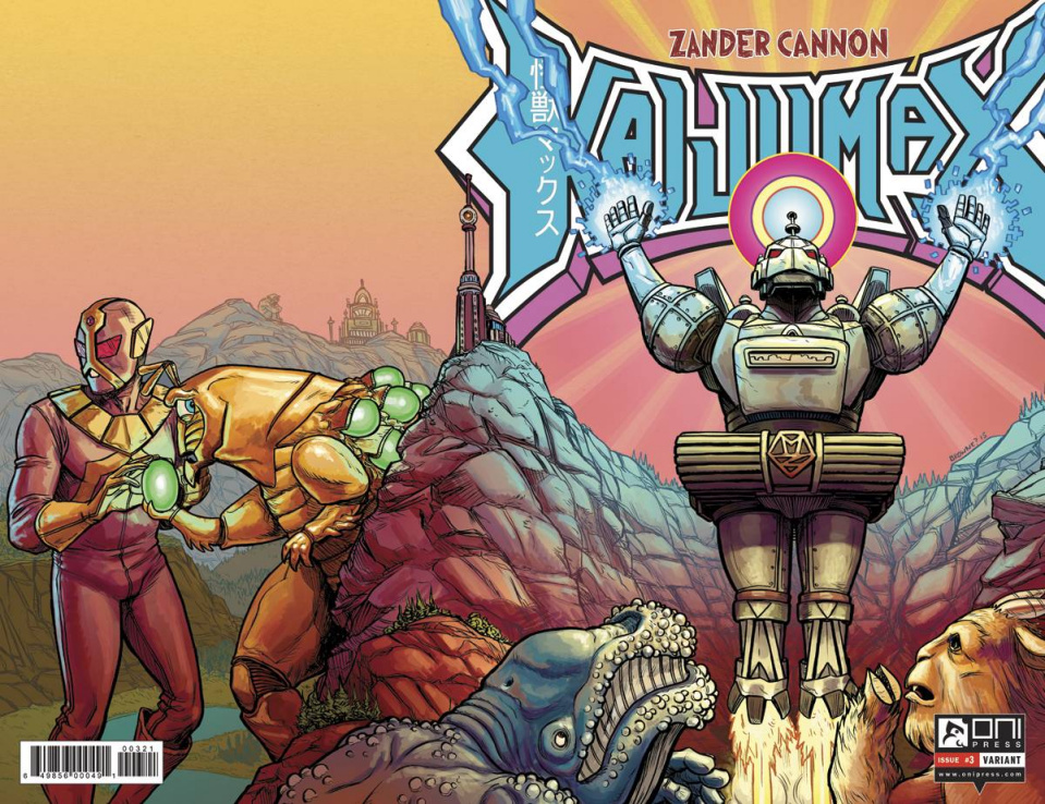 Kaijumax #3 (1 Copy Browne Cover)