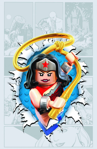 Wonder Woman #36 (Lego Cover)