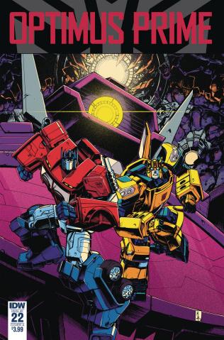 Optimus Prime #22 (Zama Cover)