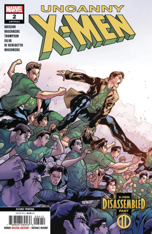 Uncanny X-Men #2 (Silva 2nd Printing)