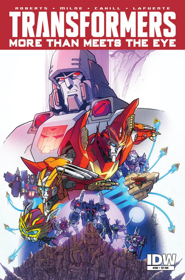 The Transformers: More Than Meets the Eye #50