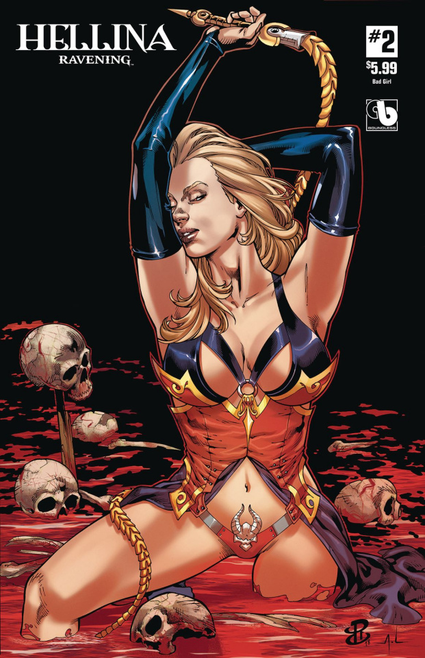 Hellina: Ravening #2 (Bad Girl Cover)