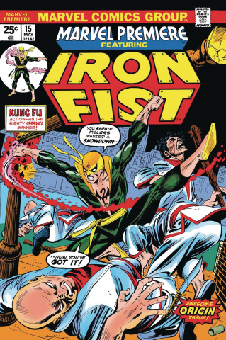 Iron Fist by Thomas & Kane #1 (True Believers)