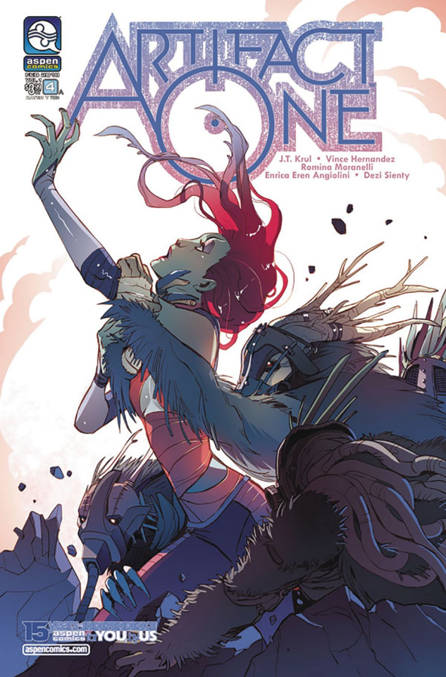 Artifact One #4 (Moranelli Cover)