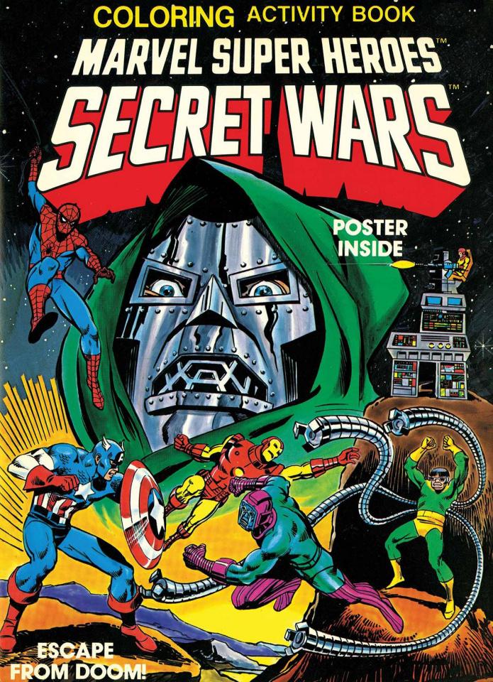 Secret Wars Activity Book