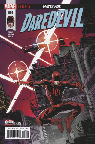 Daredevil #596 (2nd Printing)