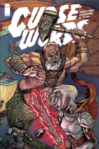 Curse Words #23 (Browne Interconnected Cover)
