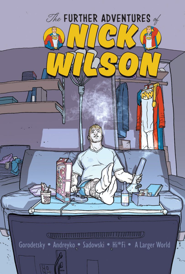 The Further Adventures of Nick Wilson #1 (Woods Cover)