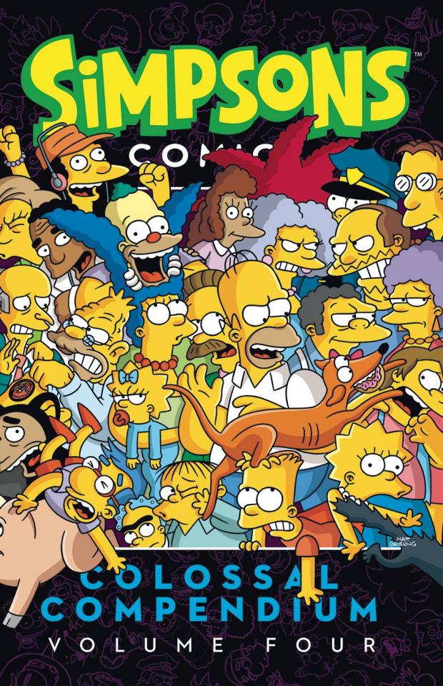Simpsons Comics: Colossal Compendium Vol. 4