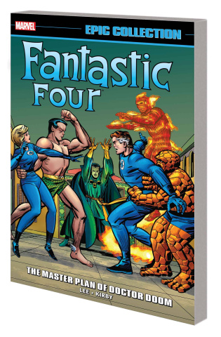 Fantastic Four: The Master Plan of Doctor Doom (Epic Collection)