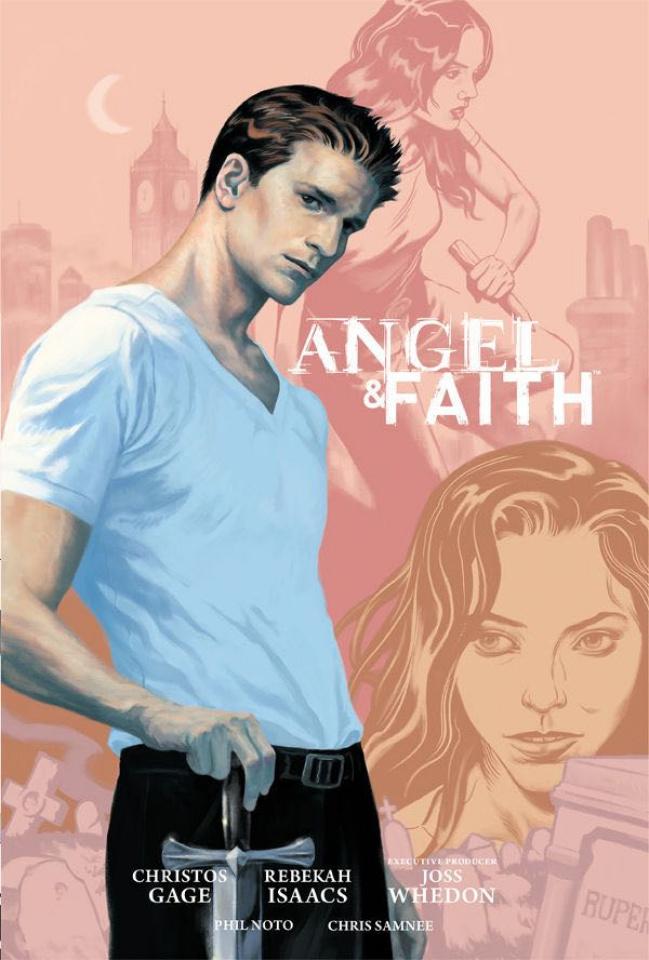 Angel and Faith, Season 9 Vol. 1 (Library Edition)