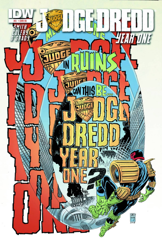 Judge Dredd: Year One #3 (25 Copy Cover)