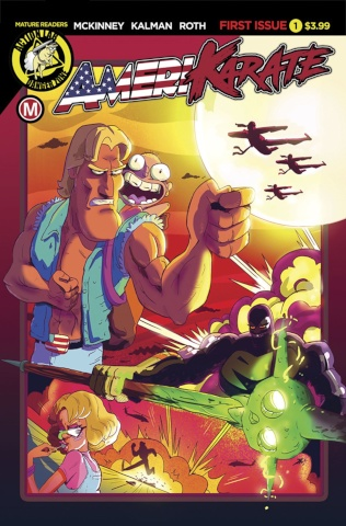 Amerikarate #1 (Roth Cover)