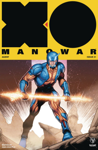 X-O Manowar #21 (Towe Cover)