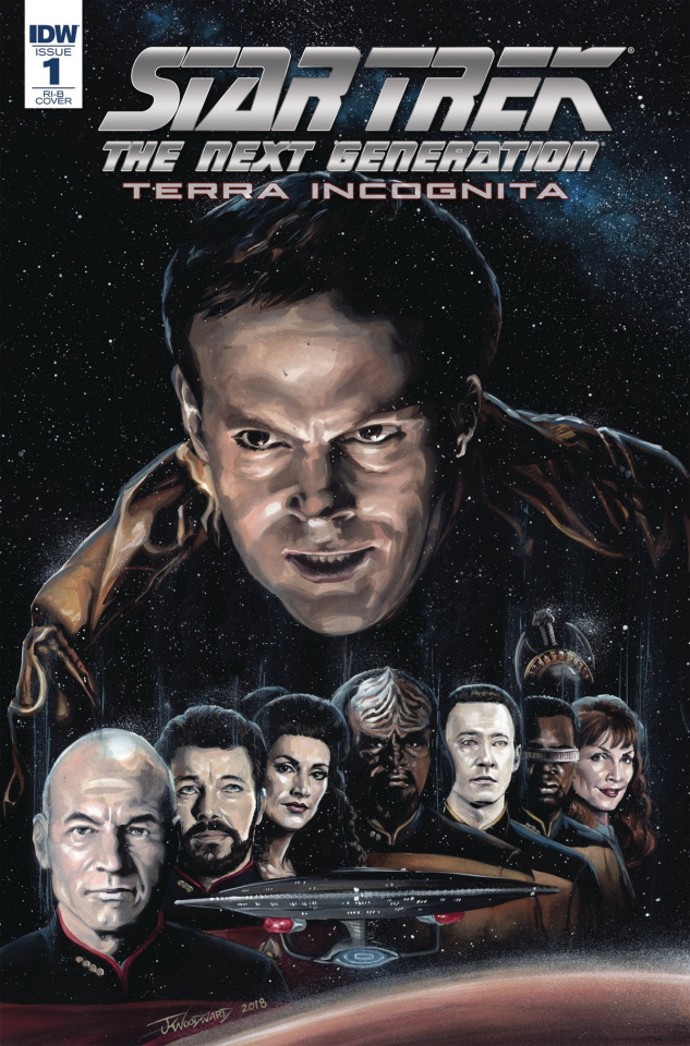 Star Trek: The Next Generation - Terra Incognita #1 (25 Copy Woodward Cover)