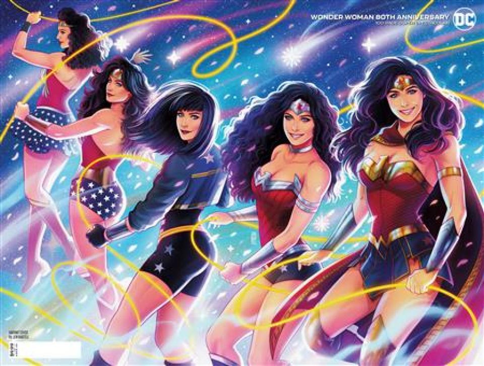Wonder Woman: 80th Anniversary 100-Page Super Spectacular #1 (Jen Bartel Costume Celebration Wraparound Cover)