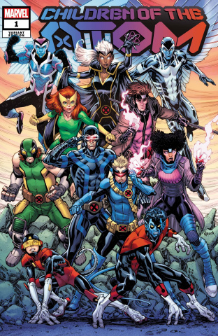 Children of the Atom #1 (Nauck Cover)