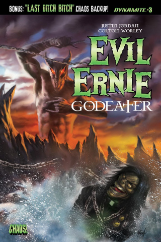 Evil Ernie: Godeater #3 (Parrillo Cover)