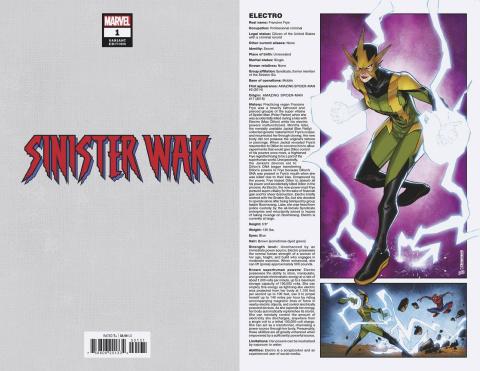 Sinister War #1 (Baldeon Handbook Cover)