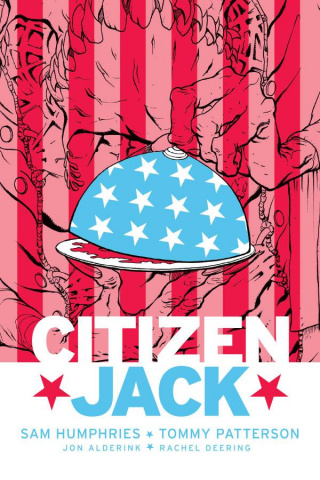Citizen Jack #3 (Patterson & Todd Cover)