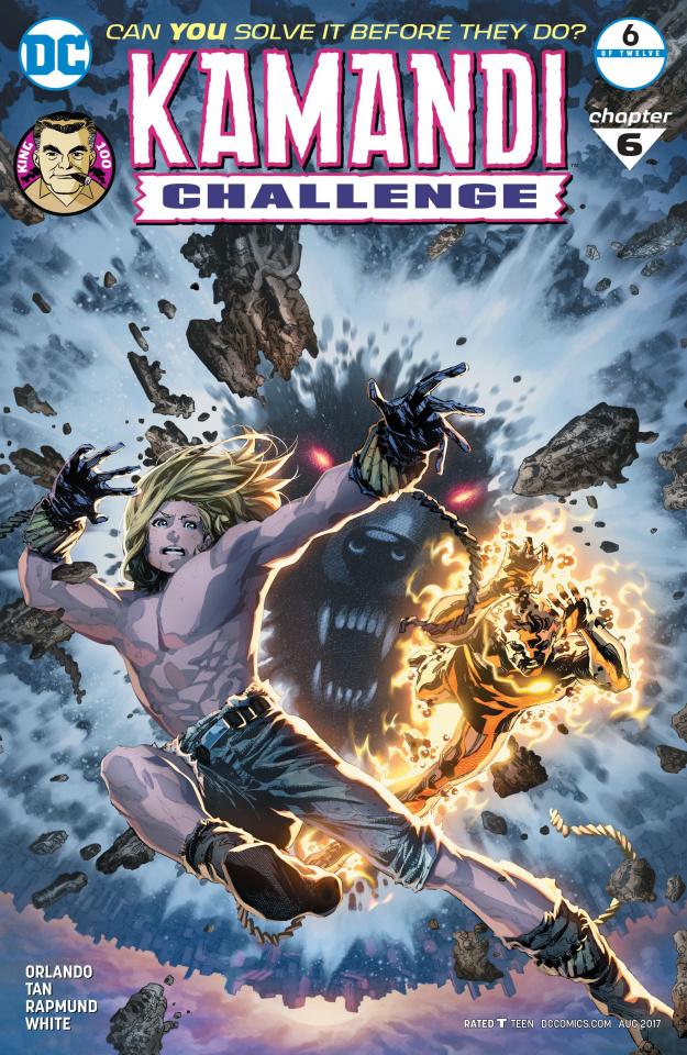 The Kamandi Challenge #6 (Variant Cover)