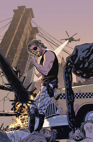 Escape From New York #9 (25 Copy Smallwood Cover)