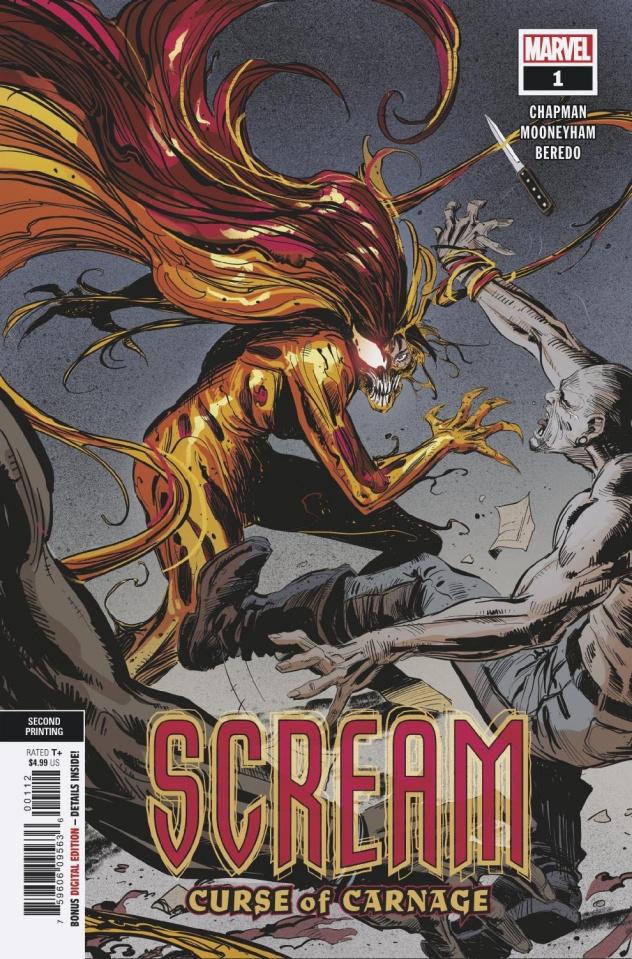 Scream: Curse of Carnage #1 (2nd Printing)