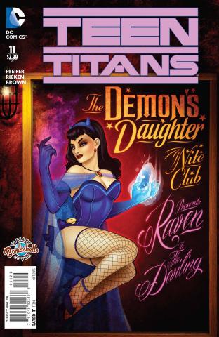 Teen Titans #11 (Bombshells Cover)