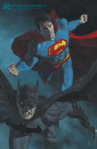 Batman / Superman #10 (Riccardo Federici Card Stock Cover)