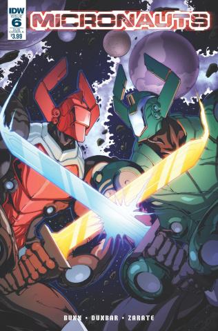 Micronauts #6 (Subscription Cover)