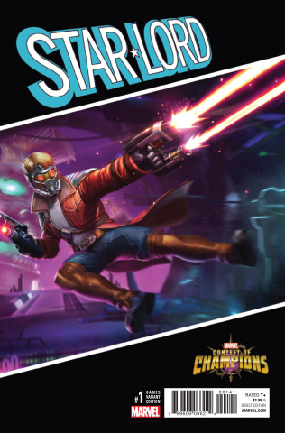 Star-Lord #1 (Games Cover)