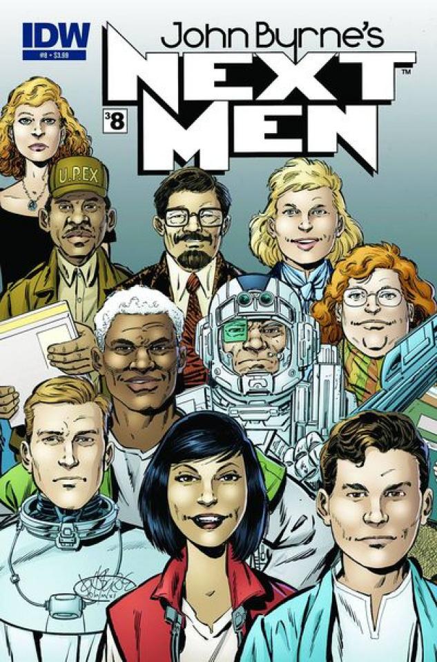 John Byrne's Next Men #8