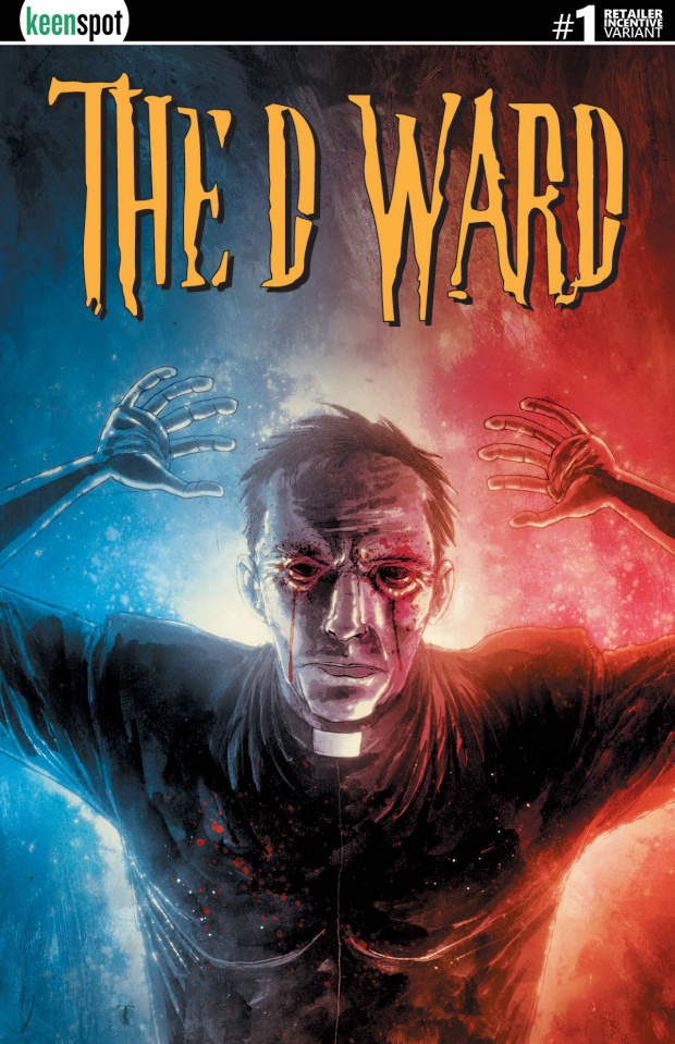 The D Ward #1 (Free 5 Copy Templesmith Cover)