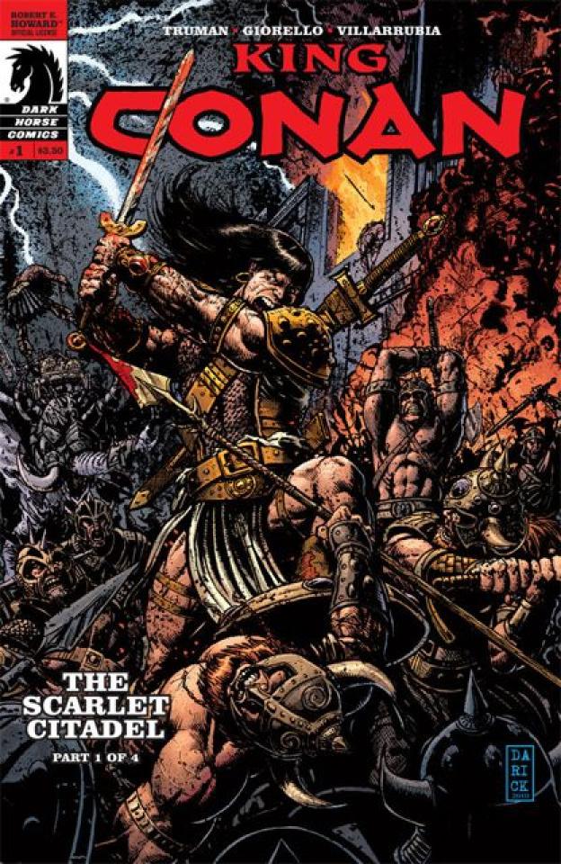 King Conan: The Scarlet Citadel #1