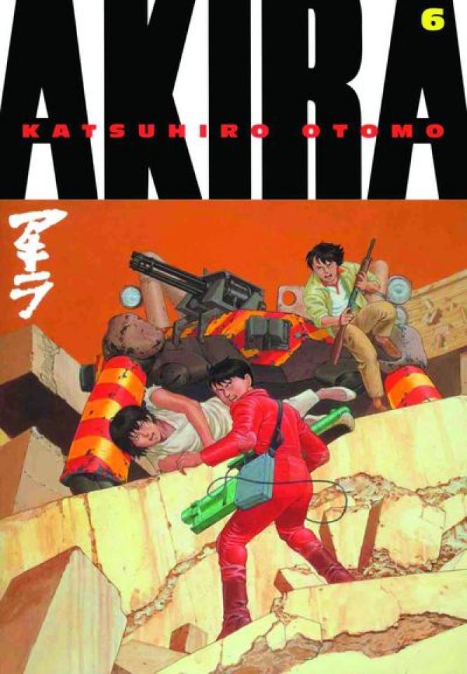 Akira Vol. 6