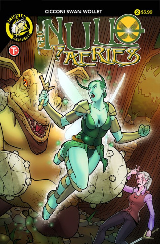 The Null Faeries #2 (Cicconi Cover)