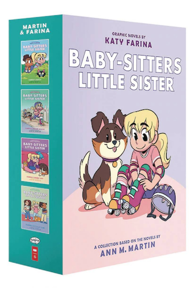 Baby-Sitters Little Sister Vols. 1-4 (Boxed Set)