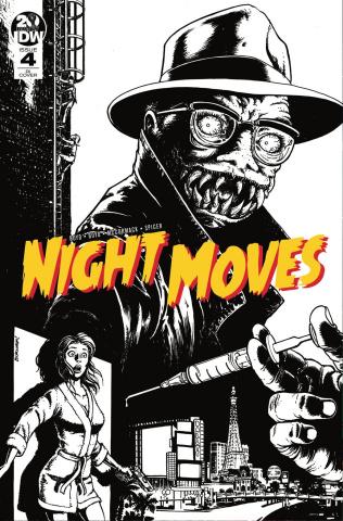 Night Moves #4 (10 Copy Burnham Cover)