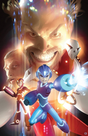 Mega Man: Fully Charged #5 (Garner Cover)