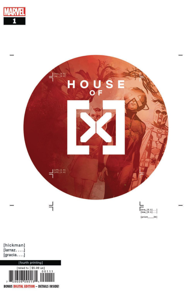 House of X #1 (Larraz 4th Printing)
