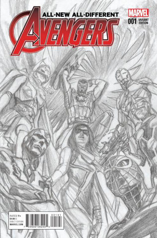 All-New All-Different Avengers #1 (Ross Sketch Cover)