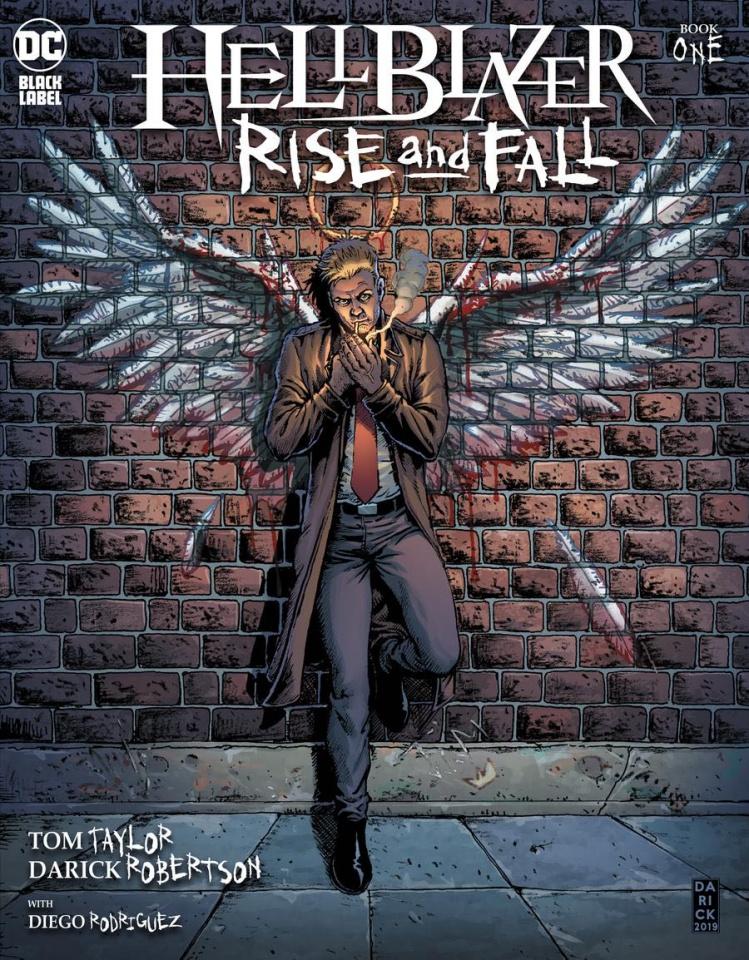Hellblazer: Rise and Fall #1 (Darick Robertson Cover)