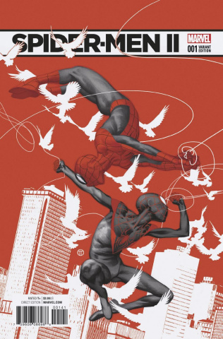 Spider-Men II #1 (Tedesco Cover)
