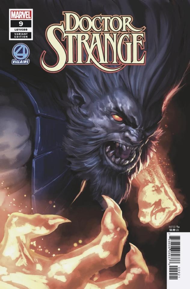 Doctor Strange #9 (Djurdjevic Fantatsic Four Villains Cover)